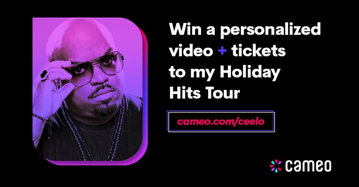 Win a personalized video and tickets to my holiday hits